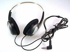 ordenador/Estéreo Ajustable Negro Auriculares 3.5mm Jack conector 5 piezas