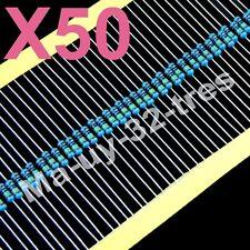 x50 RESISTENCIAS PELICULA DE METAL 220 ohm 1/4W
