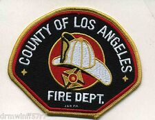 """County of Los Angeles  Fire Dept., CA  (4.5"""" x 3.5"""" size)  fire patch"""