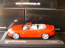 JAGUAR XK CONVERTIBLE 2006 SALSA ROT MINICHAMPS 400130531 1/43 RED ROSSO ROUGE