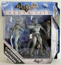 CATWOMAN & BATMAN Batman Arkham City DC Legacy Video Game Variant Figures 2012