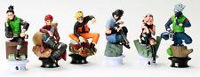 """Naruto Uzumaki Kakashi Sasuke Gaara Sakura Shikamaru PVC 6Pcs Figures 3.5"""" New"""