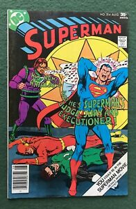 Superman #314 DC Comics Bronze Age Lois Lane Clark Kent vf