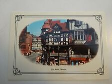 VINTAGE 1970'S  POSTCARD-THE ROWS CHESTER UK