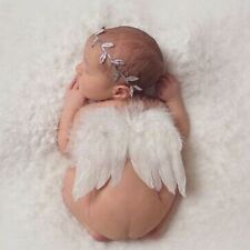 Angel Feather Wings Baby Girl HeadBand Photo Shoot Photography Prop Feathers