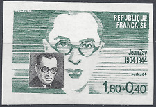 PERSONAGGI FAMOSI N°2329 FRANCOBOLLO NON DENTELLATO IMPERF 1984 NEUF MNH