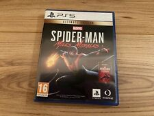 Marvel Die Spinne-Mann: Miles Morales-Ultimate Edition ps5 (Kein Remastered DLC)