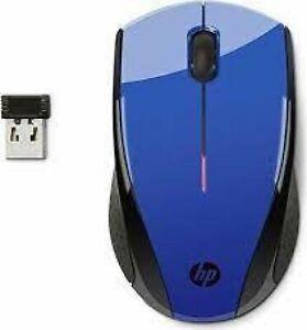 HP Mouse Wireless X3000 Blu - USATO