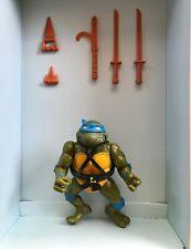 TMNT Ninja Turtles Leonardo Soft head 1988 Near Complete Vintage Figure