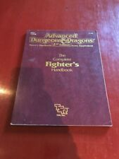 Advanced Dungeons & Dragons AD&D The Complete Fighter's Handbook TSR2110