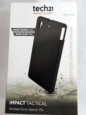 New Authentic Tech21 Impactology Impact Tactical Case for Sony Xperia Z1s Black!