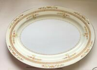F&B Co. China Serving Platter Hand Painted Japan