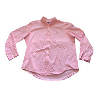 Ralph Lauren Button Up Adult Extra Large XL Pink Casual Mens 1208