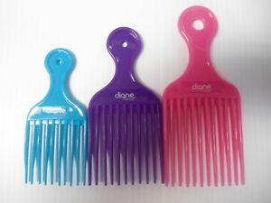 Diane 3-pieces 3-sizes Plastic Lifts Multi-Colors - Essential Salon Tools