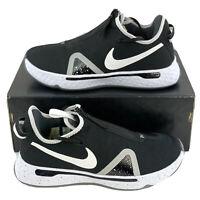 Nike PG4 Black White Men's Basketball Shoes Sneakers Paul George CK5828 002