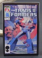 Transformers #1 Comic Book - Fridge Magnet. Optimus Prime