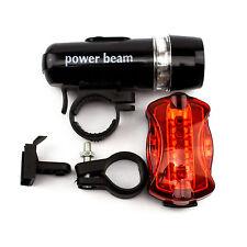 Vélo lumière LED Front u rücklampe BICYCLE LIGHT Head-taillight NOUVEAU & OVP