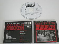 LAST EXIT TO BROOKLYN/SOUNDTRACK/MARK KNOPFLER(VERTIGO 838 725-2) CD ALBUM