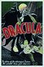 Dracula Letrero de Metal Placa Signo Arqueado Tin 20 X 30CM