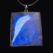 Anhänger, Silber 925 mit Regenbogenmondstein