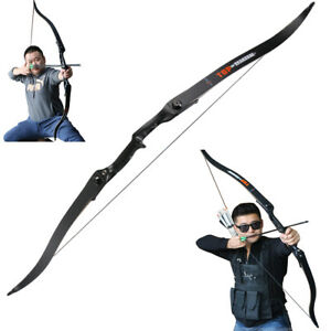 "30-50lbs Toparchery Archery Hunting 56"" Right Hand Target Take Down Recurve Bow"