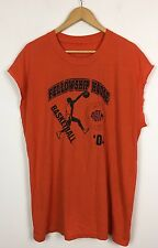 Vintage Rétro Bright Bold Crazy Fresh Prince Surdimensionné Débardeur Shirt Top Sports Usa