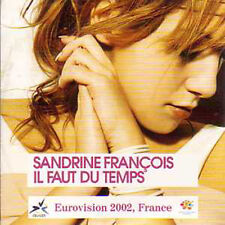 CD single EUROVISION 2002 France : Sandrine François	Il faut du temps 2-TRACK N