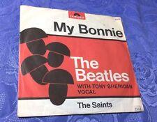 "BEATLES & TONY SHERIDAN (7"") MY BONNIE /SAINTS [RI GERMAN 1964 POLYDOR 52273 PS]"
