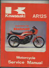 Kawasaki AR125 Official Factory Service Repair Manual AR 125 Junior Sports BX07