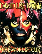 David Lee Roth 1986 Eat 'Em & Smile Tour Program Book / Van Halen / Vg 2 Ex