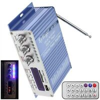 Mini HiFi Car Bluetooth Amplifier USB SD DVD FM Audio Stereo Radio MP3 Player