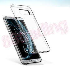 Ultra Slim Clear Transparent Body Protection Gel Case for Samsung Galaxy S8 Plus