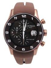 Orologio Locman Island Chrono Gomma/titanio 40mm 620BBN/375 Scontatissimo New