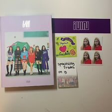 (g)i-dle i am + name sticker + soyeon id card + shuhua sticker sheet