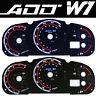 ADD W1 Gauge Overlay for 2003 2004 04 05 06 07 Madda 3 Cluster White Blue Mazda3
