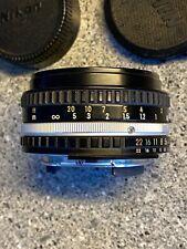 Nikon Nikkor E 50mm 1.8 Pancake