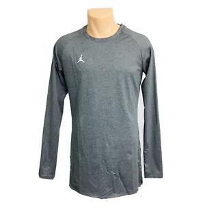 Nike Air Jordan Dri Fit Alpha Dry Men's Athletic Long Sleeve Compression T Shirt