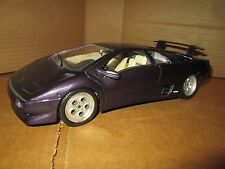 LAMBORGHINI Diablo 1990 purple  burago 1/18 lambo loose display piece