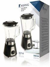 Frullatore Miscelatore Professionale Tritatutto 500W capacità 1.5L caraffa vetro