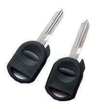 2pcs Ignition Key Fob Shell Case For Ford Escape Explorer Taurus 80 Bit Chip