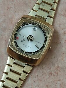 ZODIAC Astrographic sst Vintage 1970's Mystery Dial Automatic