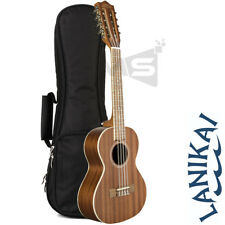 NEW LANIKAI M-SERIES MA-8T TENOR 8 STRING UKULELE w/ PADDED GIG BAG