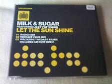 MILK & SUGAR / LIZZY PATTINSON - LET THE SUN SHINE - HOUSE CD SINGLE
