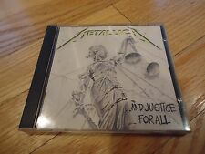 ...And Justice for All by Metallica CD, Sep-1988, Elektra Label