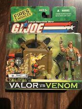 G.I. GI Joe Valor vs Venom DART with Gun Station Action Figure Hasbro Toy- MOC
