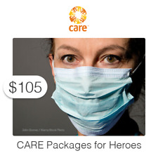$105 Charitable Donation For: CARE Packages for Frontline Heroes