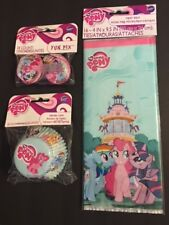 My Little Pony cupcake liners toppers and treat bags party bundle lot
