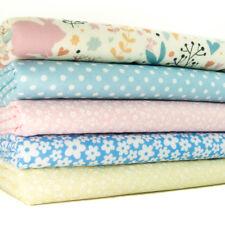 Fat Quarter Fabric Bundle KIDS NURSERY BUNNY RABBIT Polycotton Craft Material