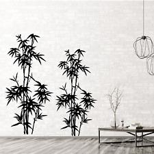 Wandtattoo Bambus Wandaufkleber Wandsticker Wohnzimmer Schlafzimmer Schilf