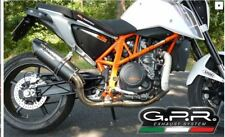 KTM DUKE 690 2012-2016 ESCAPE Furore NERO by GPR TUBO DE ESCAPE Italia